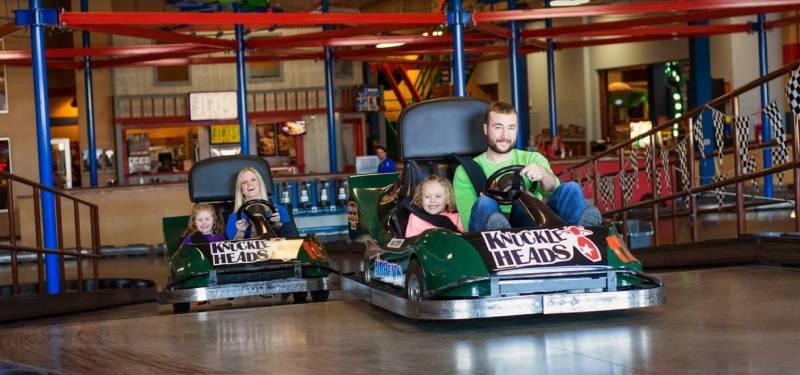 Knuckleheads Park wisconsin dells go-karting